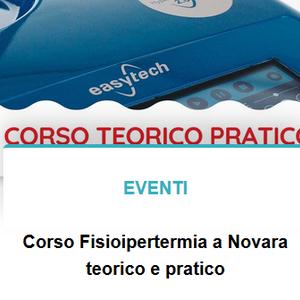 Evento Fisioipertermia a Novara!
