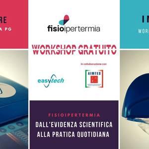 Workshop fisioipertermia 1 dicembre
